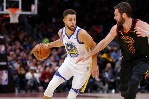 Kevin Love gives one-word response to Stephen Curry's claim about 'The Stop' in 2016 Finals