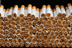 1 charged after province seizes nearly 123,000 contraband cigarettes