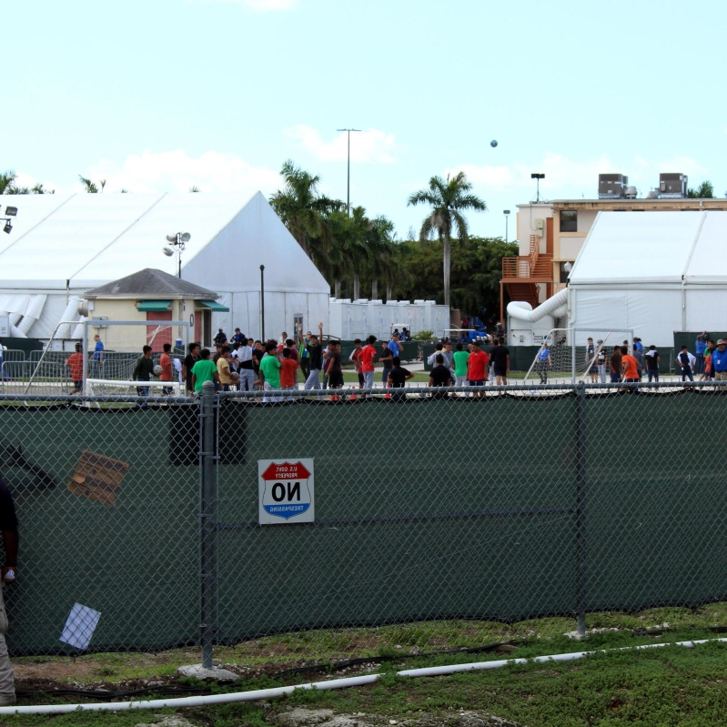 US: Army base considered for unaccompanied migrant children