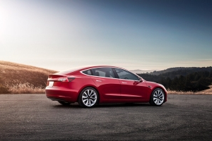Here's The World's First Watered Powered Tesla