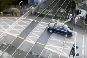 Watch: Irish Rail release video of shocking level crossing crashes
