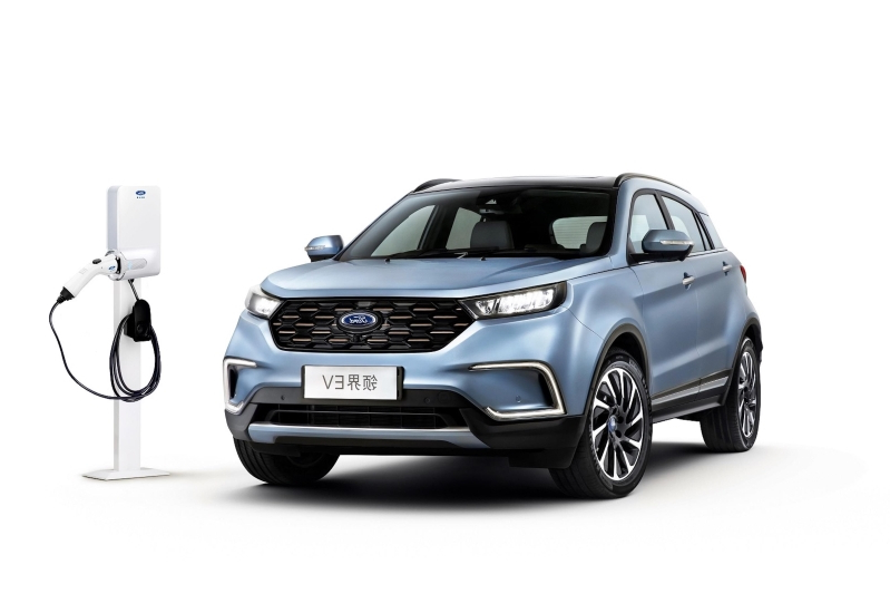 2021 Ford Mach E Is Ford's First Electric SUV >> News Ford China Introduces Its First All Electric Suv And It Looks