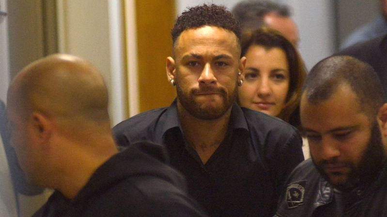 Neymar questioned after posting images of his rape accuser online