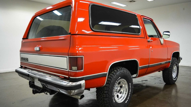 Super Clean 1989 Chevrolet Blazer Is Ready To Rumble