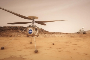 This Mars helicopter will image the Red Planet from the skies