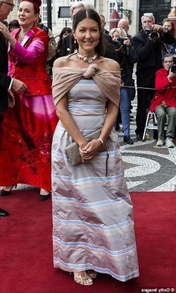 Entertainment: Danish royal family put on elegant display as Queen