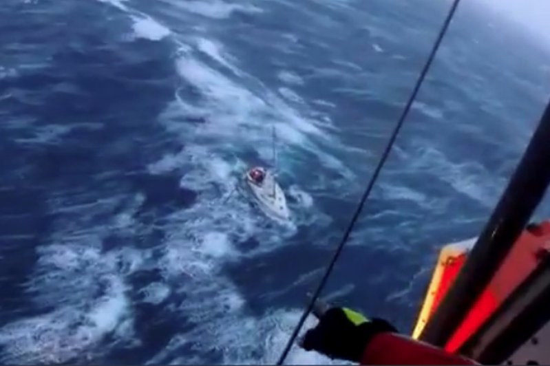 Irish yacht crew rescued from yacht off coast of Spain during Storm Miguel