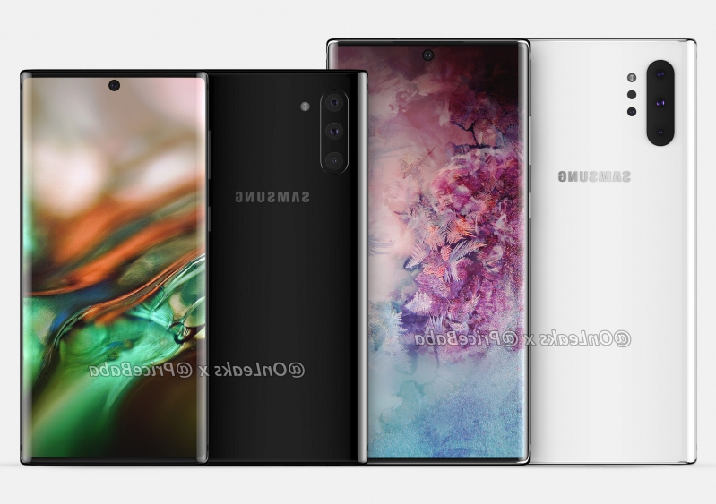 Leak: First unofficial Note 10 renders show off Samsung's refreshed aesthetic