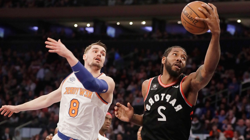 Report: Knicks 'expected to push hard' for Kawhi Leonard in free agency