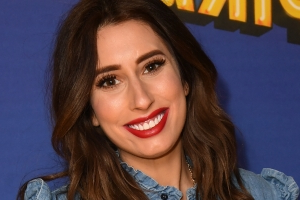 Stacey Solomon reveals baby son's name