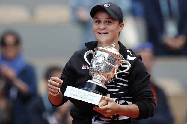 'It's incredible!' Ashleigh Barty makes history as she cruises to victory in straight sets to become the first Australian to win the French Open since 1973 - and sends a warning to her rivals