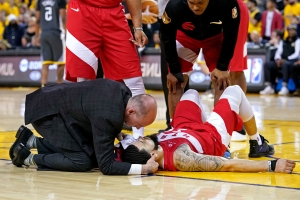 Raptors' Fred VanVleet has funny take after getting his tooth knocked out