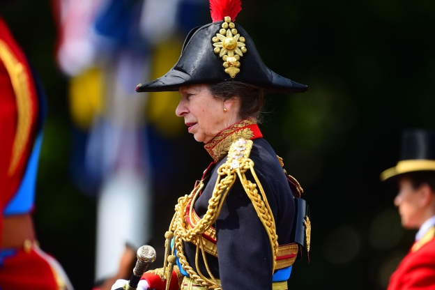 World: Soldier falls off horse during Trooping the Colour