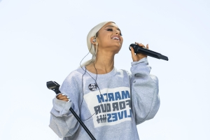 Ariana Grande Responds To Homophobic Protester Outside Her Concert: 'Wishing Him Peace & A Healed Heat Cause Girl Yikes'