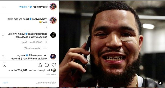 Drake Offers To Help Fix Fred VanVleet's Tooth With 'Free Health Care'