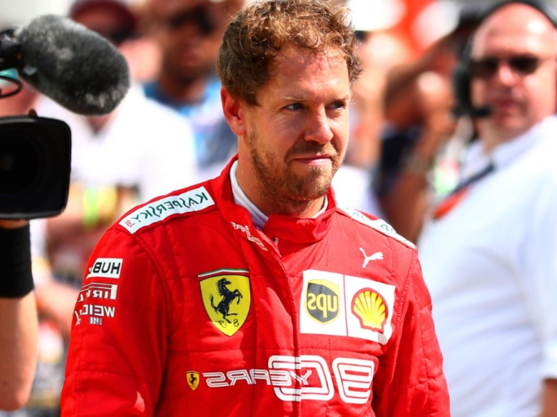 Papers: Vettel buckled under pressure