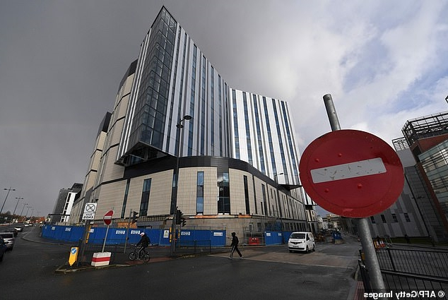 Sickening: Health bosses face £100 million repair bill for new hospital after collapsed construction giant Carillion botched building work