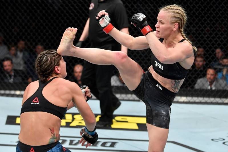Valentina Shevchenko on frightening finish of Jessica Eye: 'If you are not doing this kind of KO, you will get this kind of KO'