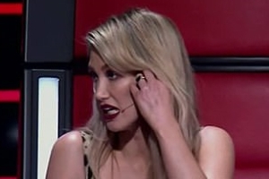 'I've gone rogue!' The Voice's Delta Goodrem accused of CHEATING as she 'saves' Guy Sebastian's act - just moments after failing to steal another of his singers