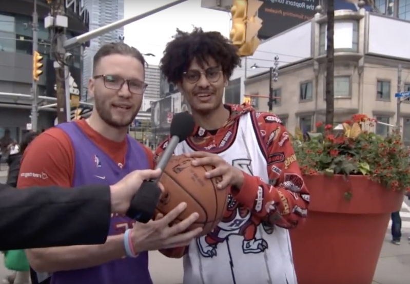Jimmy Kimmel Puts Raptors Fans' Loyalty To The Test