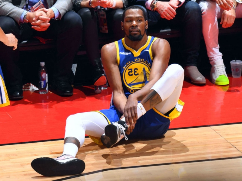 KD suffered Achilles injury in Game 5