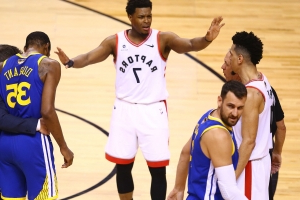 Kyle Lowry unimpressed with reaction to Kevin Durant injury by Raptors fans
