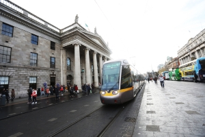 Man dies after O'Connell Street stabbing; bus and Luas services disrupted as scene is sealed off