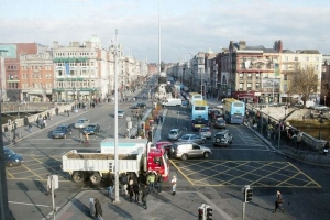 Man dies following fatal stabbing on O'Connell Street in early morning attack
