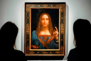Mystery solved: Saudi Crown prince keeps the $450 million Da Vinci Salvator Mundi on his yacht
