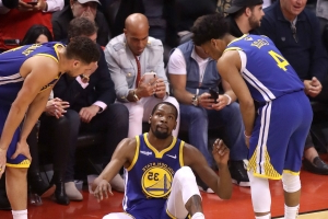 NBA Finals 2019: Bob Myers, Warriors players discuss Kevin Durant's injury