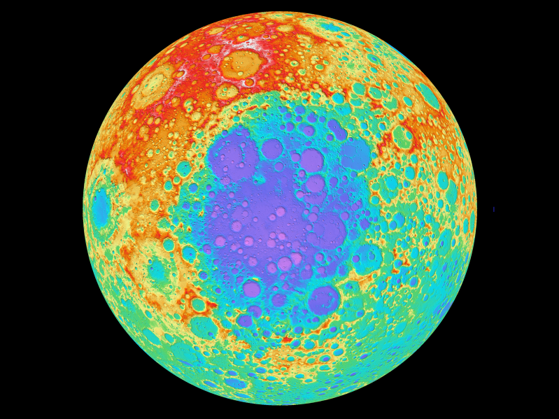 Scientists have discovered a mysterious lump on the moon's far side, and it's 5 times bigger than Hawaii's Big Island