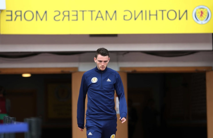 Andy Robertson plays down injury fears