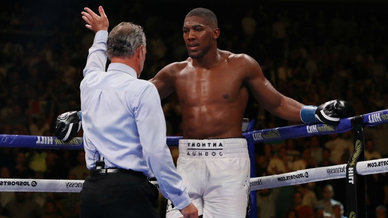 Image result for anthony joshua andy ruiz