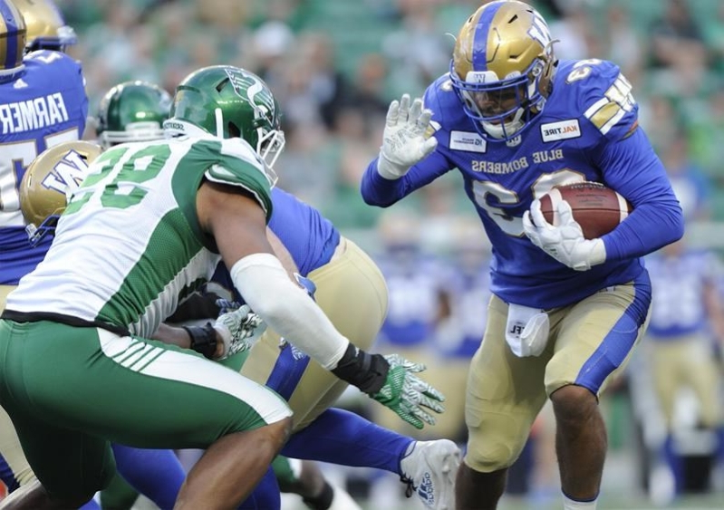 Blue Bombers' Andrew Harris looking to build off back-to-back rushing titles