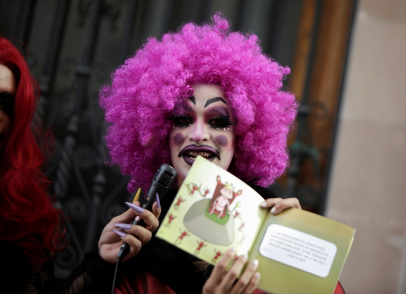City officials canceled a children's story time hosted by drag queens. Then a church saved the day.