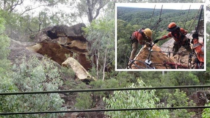 'Culturally significant' Glenbrook hand prints in cave found to be fake