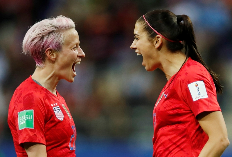 'Disgusted' - USWNT slammed for celebrations in record-breaking World Cup win