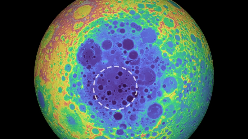 Huge mystery blob found under the moon's far side