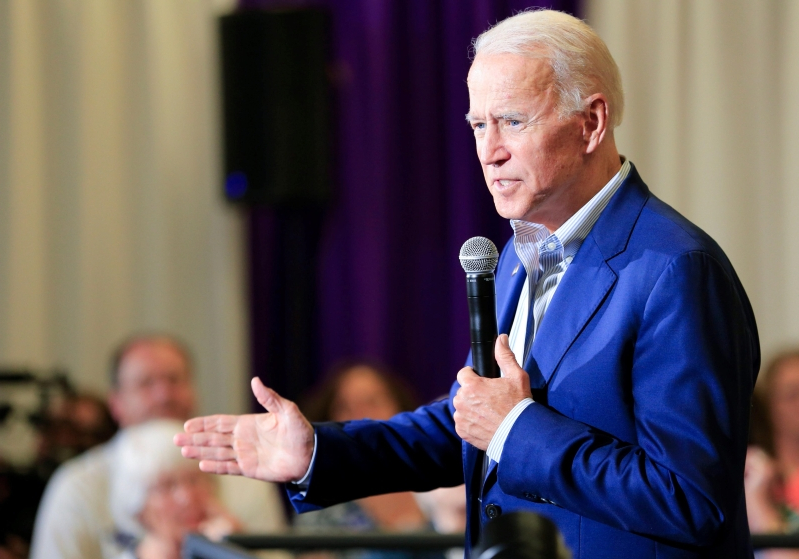 Joe Biden says decreasing access to abortion services changed his view on federal funding