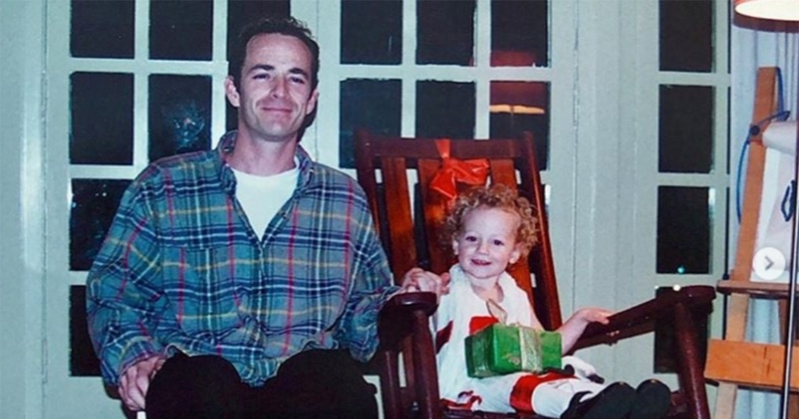 Luke Perry's Daughter Sophie Shares Sweet Childhood Photos with Late Actor