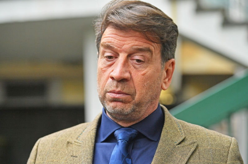Magistrates ban DIY SOS host Nick Knowles from driving for six months and fine him almost £1,500 after he admitted speeding and using his mobile phone at the wheel