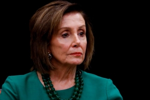 Nancy Pelosi on Trump insults: 'I'm done with him'