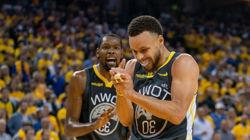 Steph Curry and Kevin Durant make Forbes' list of ten highest-paid athletes