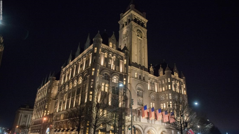 Virginia woman sues Trump's DC hotel for $1 million in injury lawsuit