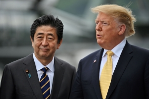 With Trump's Blessing, Japan's Abe Looks to Mend Ties With Iran