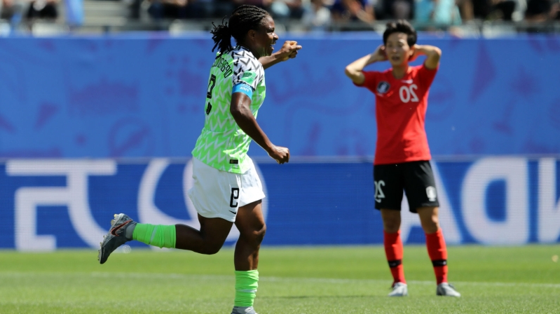 Women's World Cup 2019: Asisat Oshoala's goal helps Nigeria defeat South Korea