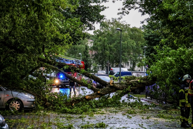 About 20 people injured in thunderstorms in eastern Germany
