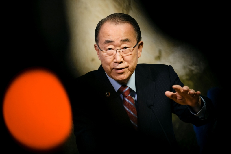 Former UN chief says risks of nuclear conflict 'are higher'