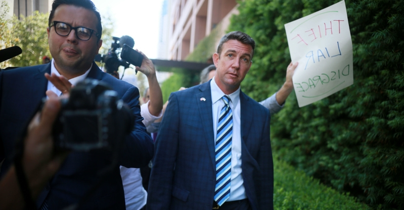 GOP Rep. Duncan Hunter's Wife Is Expected to Plead Guilty in Their Fraud Case