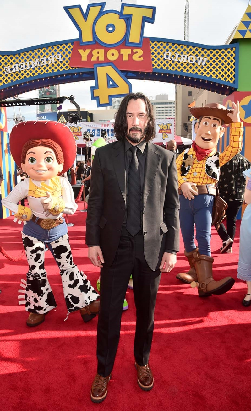 How Keanu Reeves Ended Up in 'Toy Story 4' as Duke Caboom